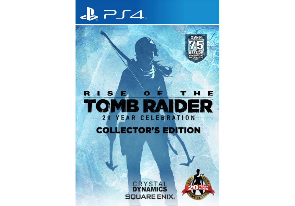 Игра для игровой консоли PlayStation 4, Rise of the Tomb Raider: 20 Year Celebration (PS4)