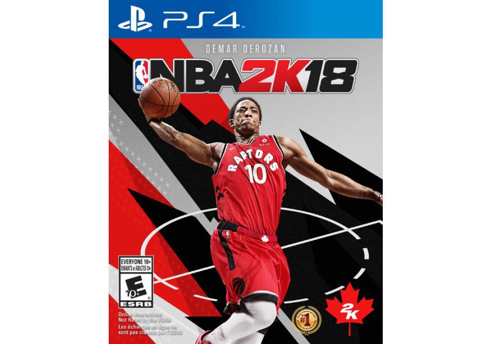 Игра для игровой консоли PlayStation 4, NBA 2K18 (БУ)