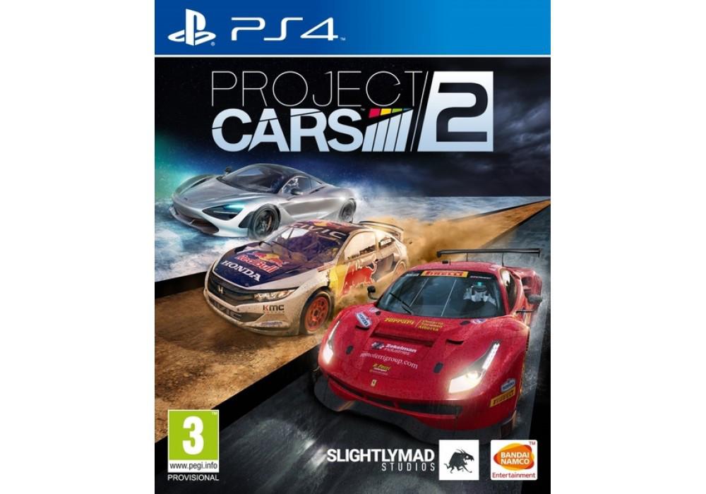 Игра для игровой консоли PlayStation 4, Project Cars 2