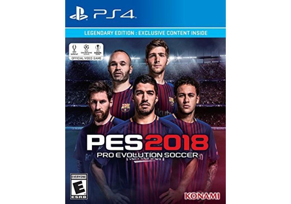 Игра для игровой консоли PlayStation 4, Pro Evolution Soccer 2018