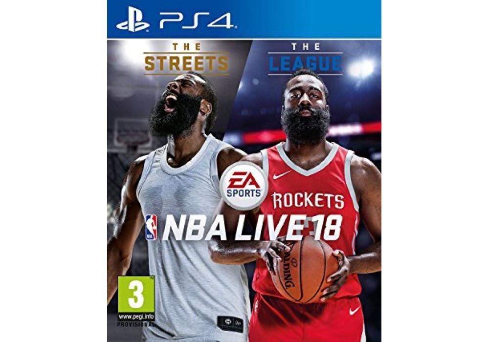 Игра для игровой консоли PlayStation 4, NBA Live 18 The One Edition
