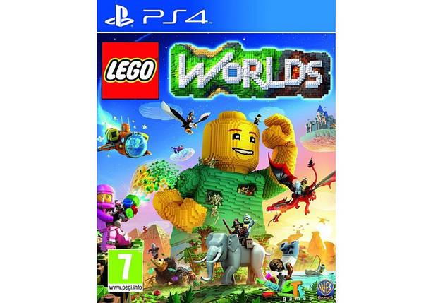 Игра для игровой консоли PlayStation 4, LEGO Worlds (Rus), фото 2