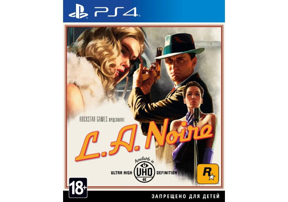 Игра для игровой консоли PlayStation 4, L.A. Noire (PS4, Rus)