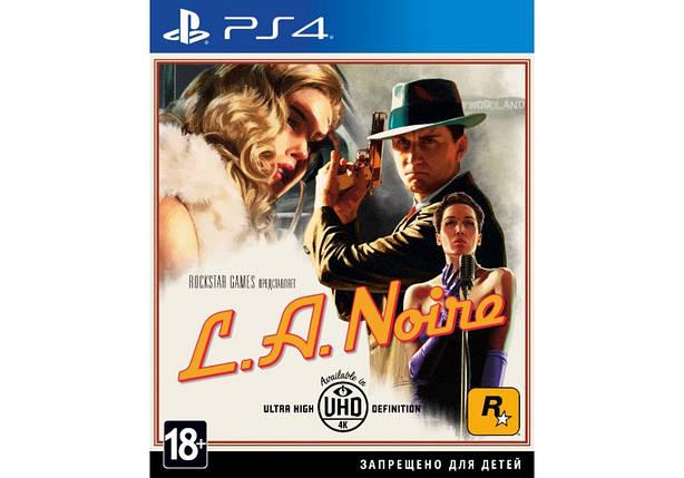 Игра для игровой консоли PlayStation 4, L.A. Noire (PS4, Rus), фото 2
