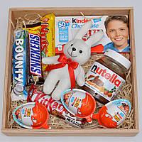 """Подарочный набор """"Заяц сладкоежка"""" (набор сладостей) Оригинальный подарок для ребёнка, подруги, друзей, детей"""