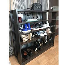 Тумба под обувь или обувница ширина 975 мм очень вместительная и удобная, прекрасна в любом интерьере, фото 2
