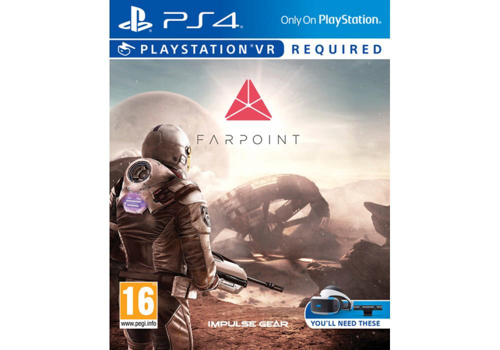 Игра для игровой консоли PlayStation 4, Farpoint (комплект только для VR. Игра+ автомат)
