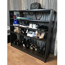 Тумба под обувь или обувница ширина 975 мм очень вместительная и удобная, прекрасна в любом интерьере, фото 3