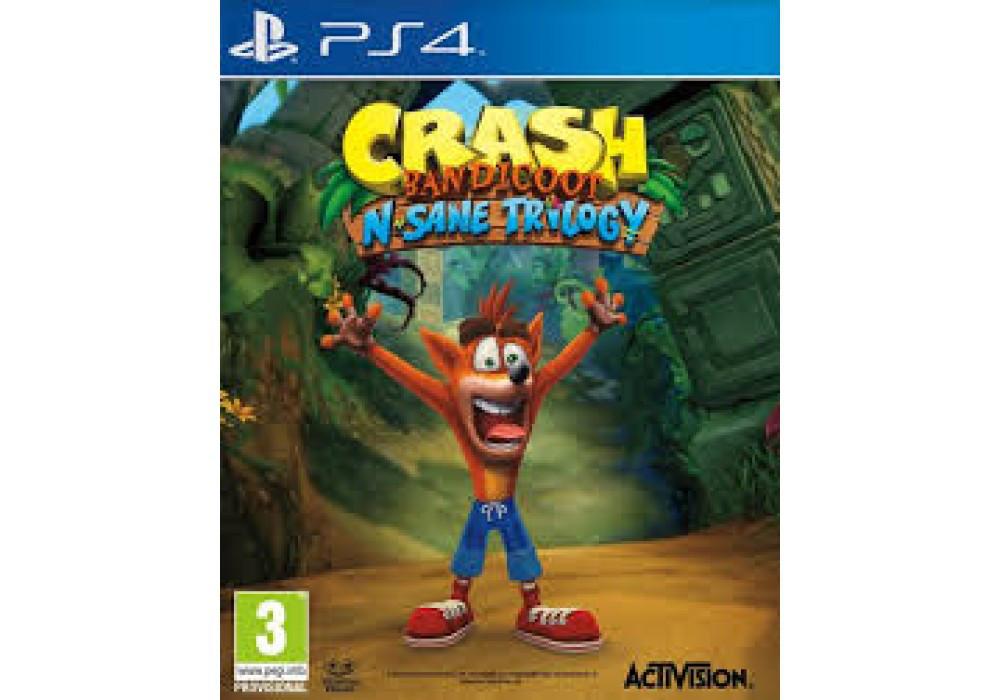 Игра для игровой консоли PlayStation 4, Crash Bandicoot N. Sane Trilogy