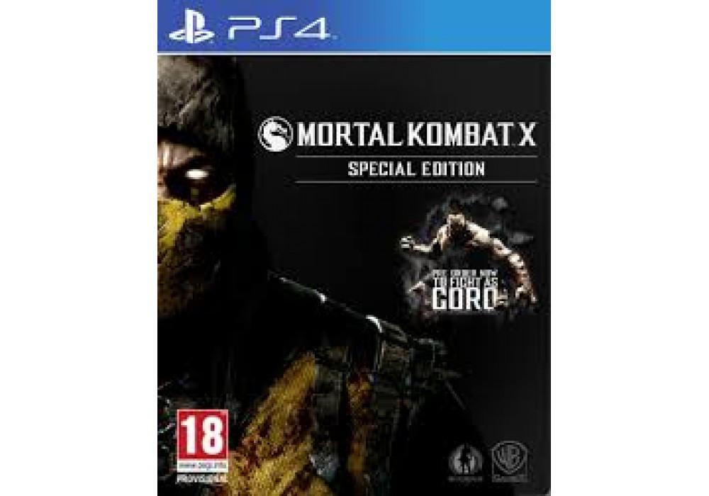 Игра для игровой консоли PlayStation 4, Mortal Kombat X: Special Edition