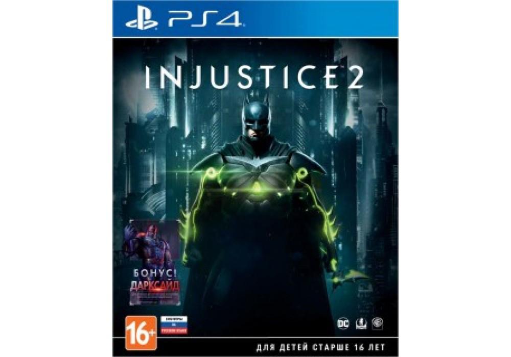 Игра для игровой консоли PlayStation 4, Injustice 2: Day One Edition
