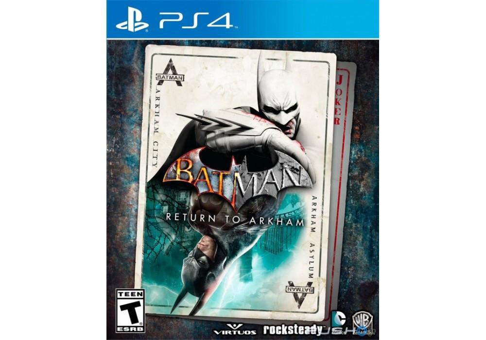 Игра для игровой консоли PlayStation 4, Batman: Return to Arkham ( RUS)