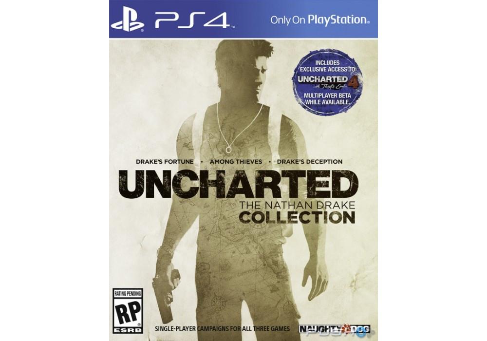 Игра для игровой консоли PlayStation 4, Uncharted: The Nathan Drake Collection
