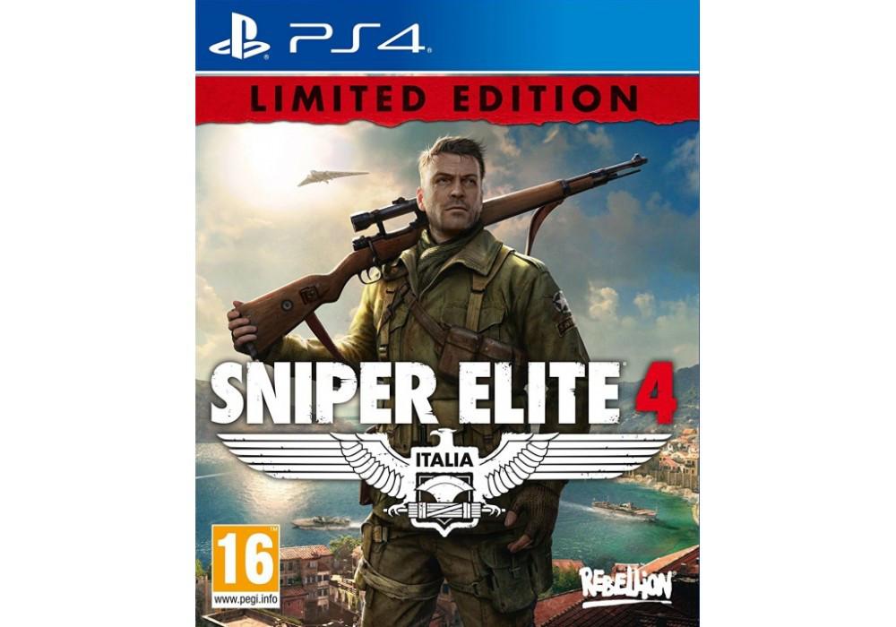 Игра для игровой консоли PlayStation 4, Sniper Elite 4 Limited Edition