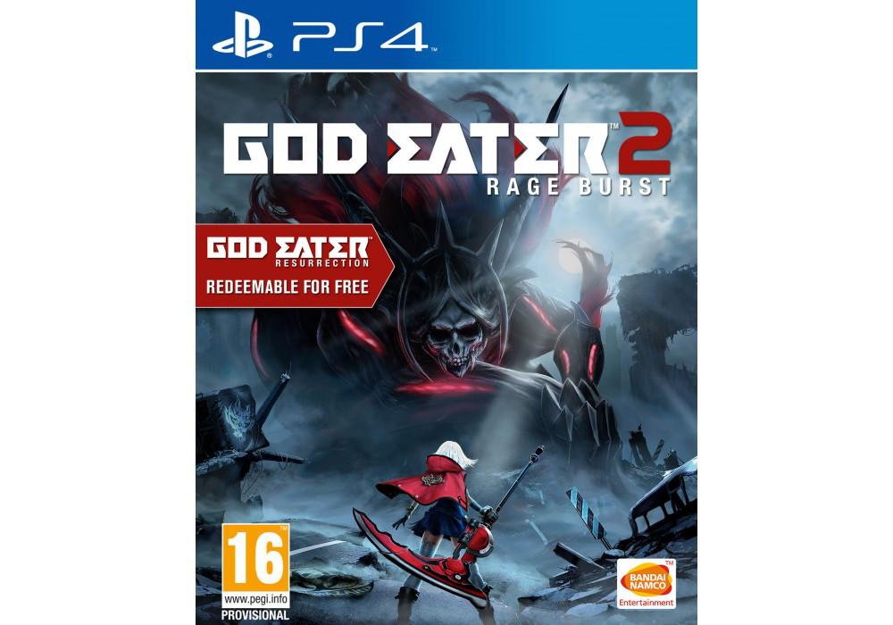 Игра для игровой консоли PlayStation 4, God Eater 2: Rage Burst (RUS)