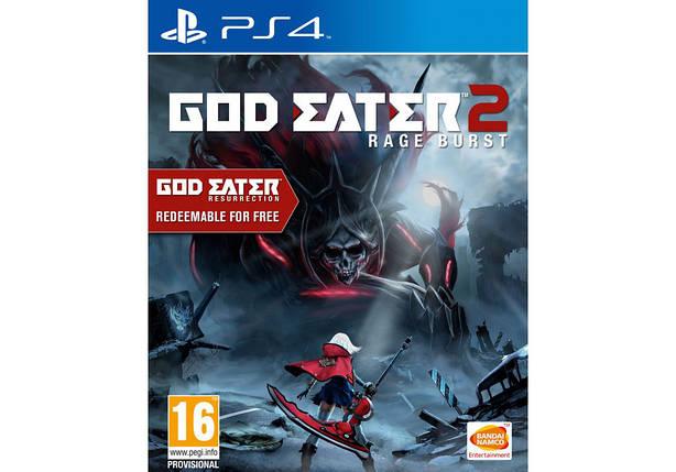 Игра для игровой консоли PlayStation 4, God Eater 2: Rage Burst (RUS), фото 2