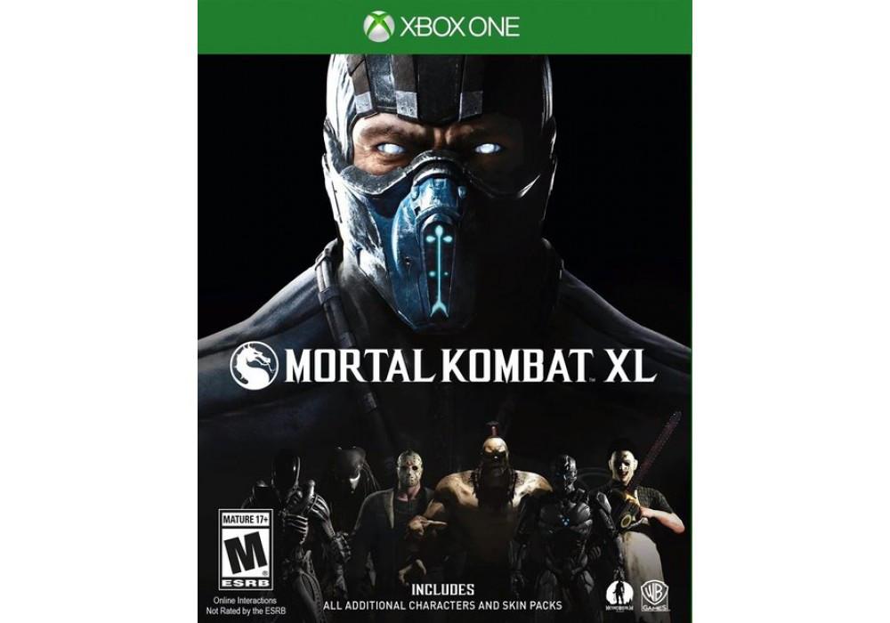 Игра для игровой консоли PlayStation 4, Mortal Kombat XL