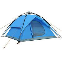 Палатка 4-х местная  с автоматическим каркасом (2 входа)
