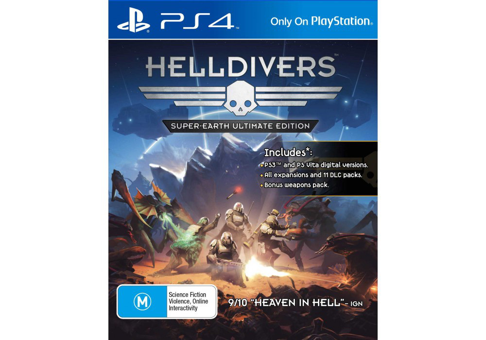 Игра для игровой консоли PlayStation 4, HELLDIVERS™: Super-Earth Ultimate Edition