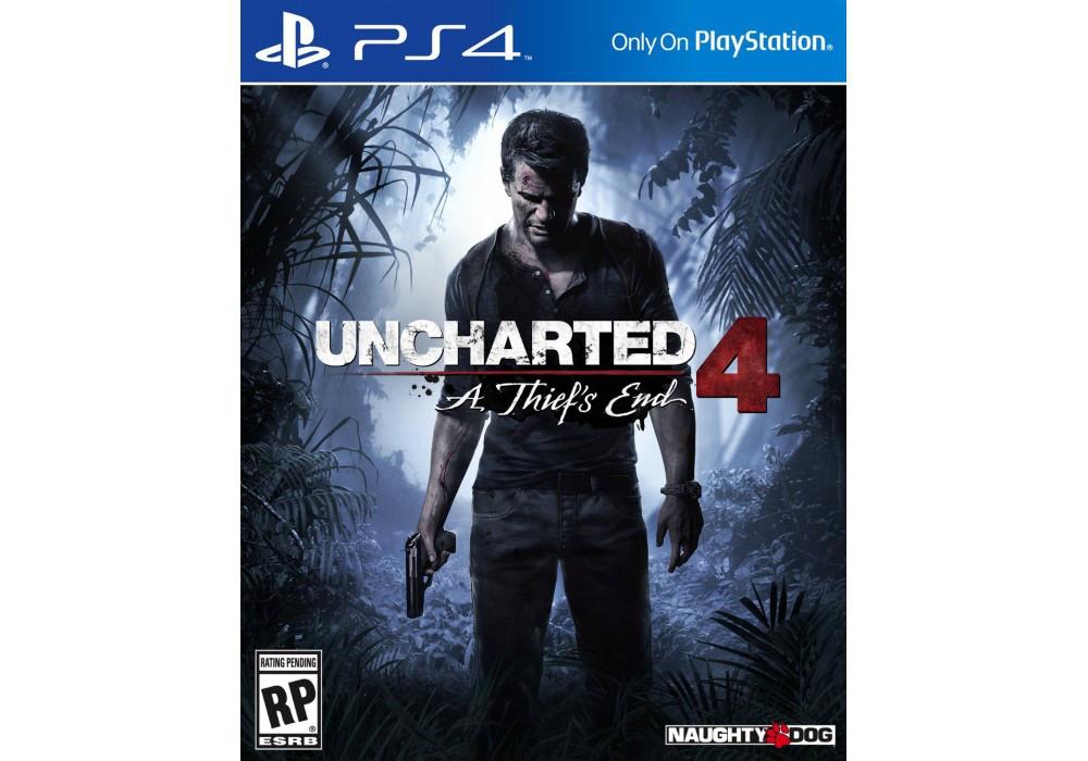 Игра для игровой консоли PlayStation 4, Uncharted 4: A Thief's End (RUS)