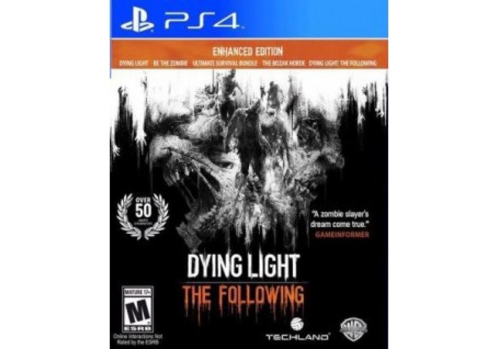 Игра для игровой консоли PlayStation 4, Dying Light: The Following Enhanced Edition (Русские суб.)
