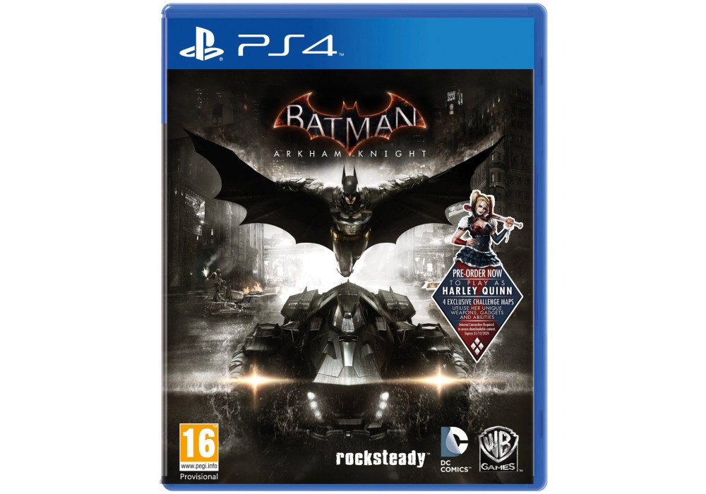 Игра для игровой консоли PlayStation 4, Batman: Arkham Knight (Game of the year edition)