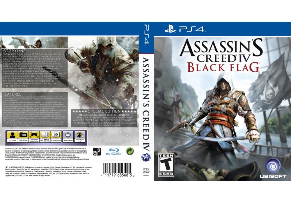 Игра для игровой консоли PlayStation 4, Assassin's Creed IV: Black Flag