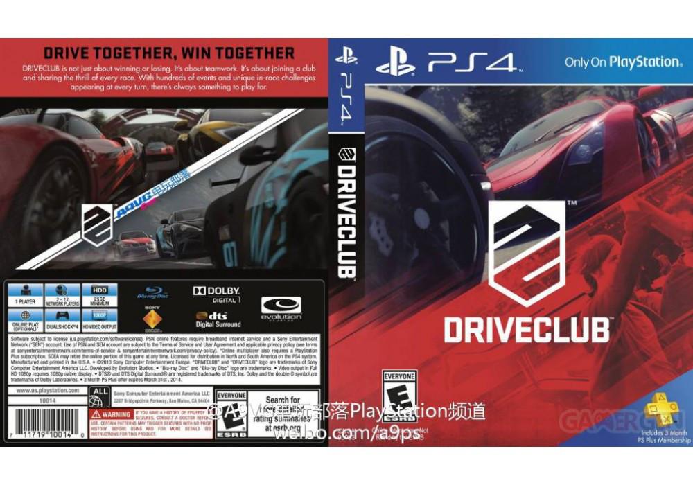Игра для игровой консоли PlayStation 4, DriveClub (русская версия)