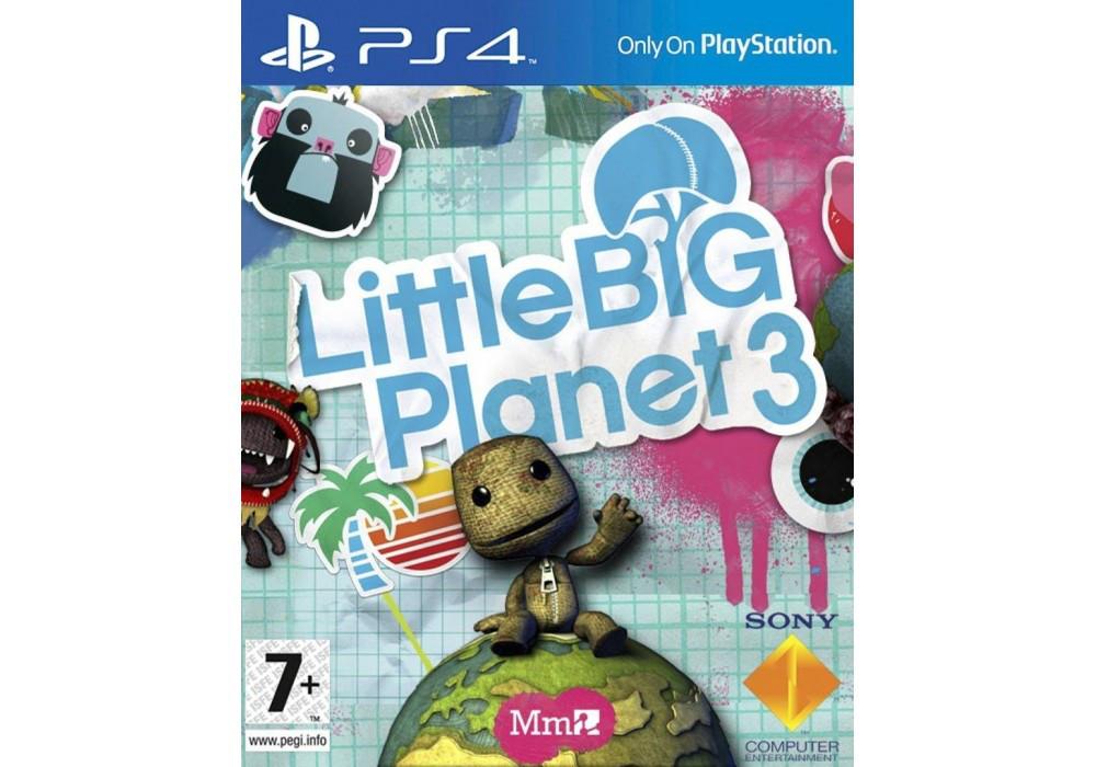 Игра для игровой консоли PlayStation 4, LittleBigPlanet 3 (русская версия)