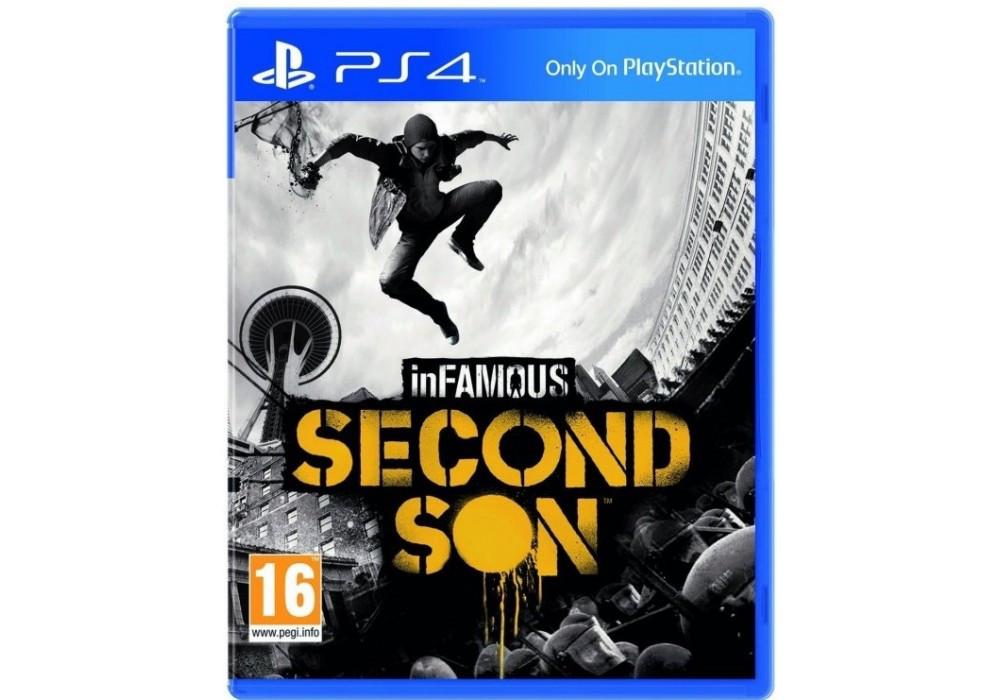 Игра для игровой консоли PlayStation 4, Infamous: Second Son