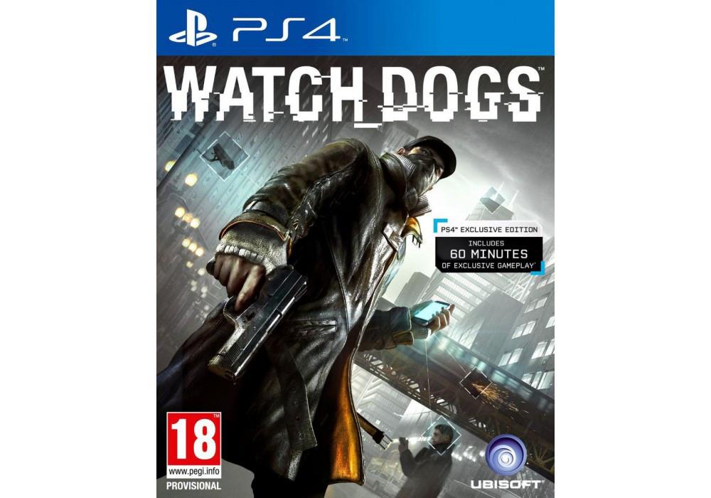 Игра для игровой консоли PlayStation 4, Watch Dogs