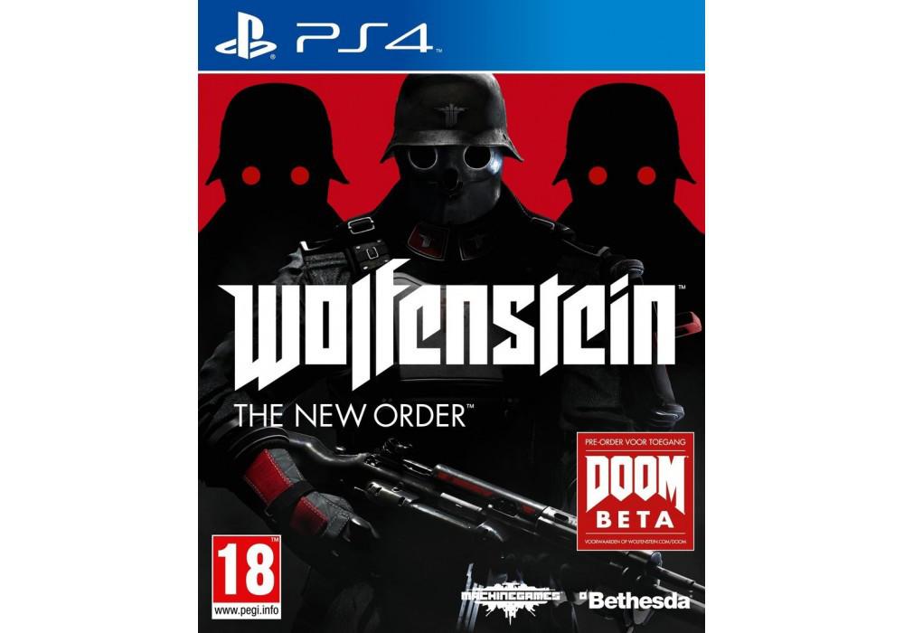 Игра для игровой консоли PlayStation 4, Wolfenstein: The New Order