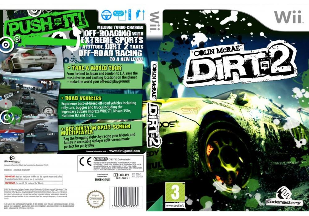Игра для игровой консоли Nintendo Wii (PAL), Colin McRae: DiRT 2