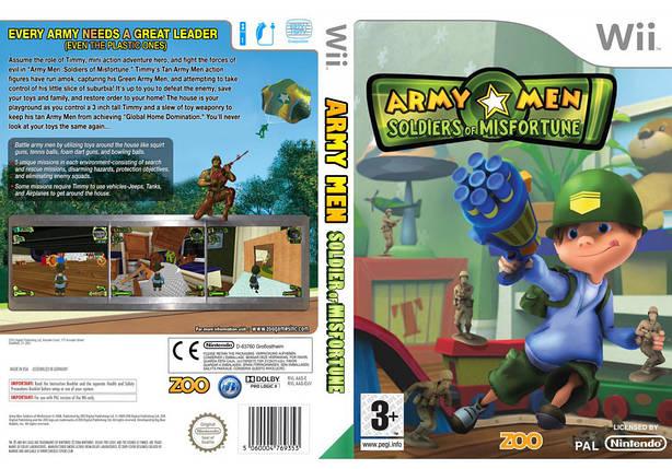 Игра для игровой консоли Nintendo Wii (PAL), Army Men: Soldiers Of Misfortune, фото 2