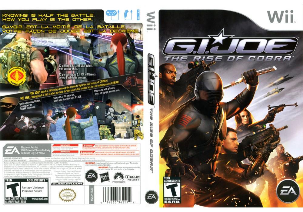 Игра для игровой консоли Nintendo Wii (PAL), G.I. Joe: The Rise of Cobra