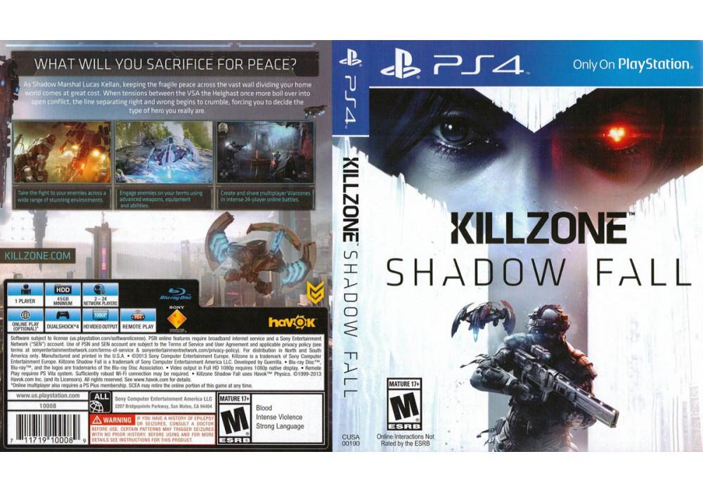 Игра для игровой консоли PlayStation 4, Killzone: Shadow Fall