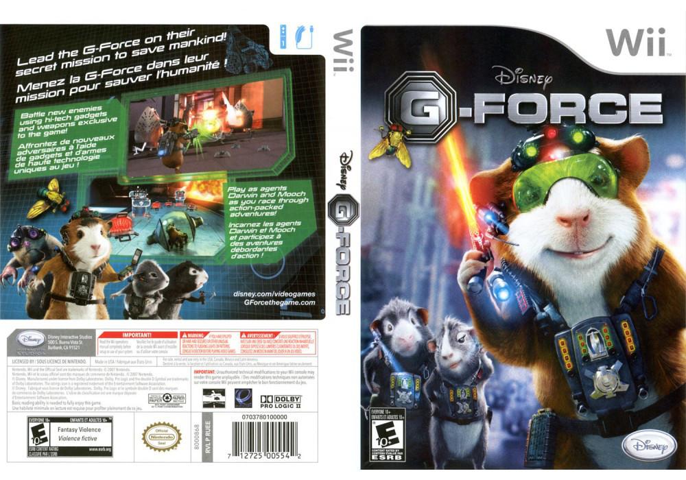 Игра для игровой консоли Nintendo Wii (PAL), G-Force: The Video Game