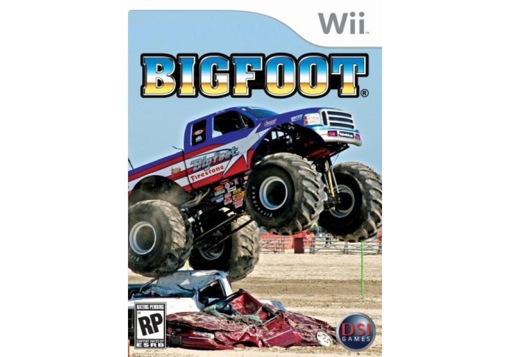 Игра для игровой консоли Nintendo Wii (PAL), Bigfoot Collision Course