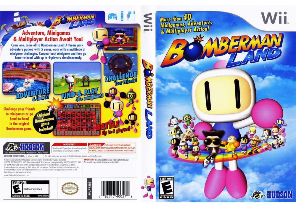 Игра для игровой консоли Nintendo Wii (PAL), Bomberman Land