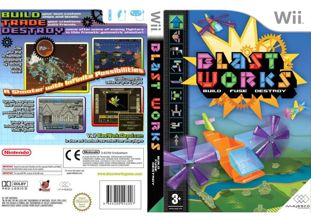 Игра для игровой консоли Nintendo Wii (PAL), Blast Works