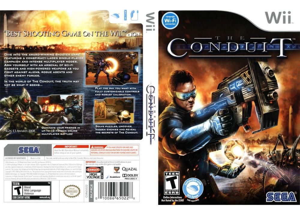 Игра для игровой консоли Nintendo Wii (PAL), The Conduit