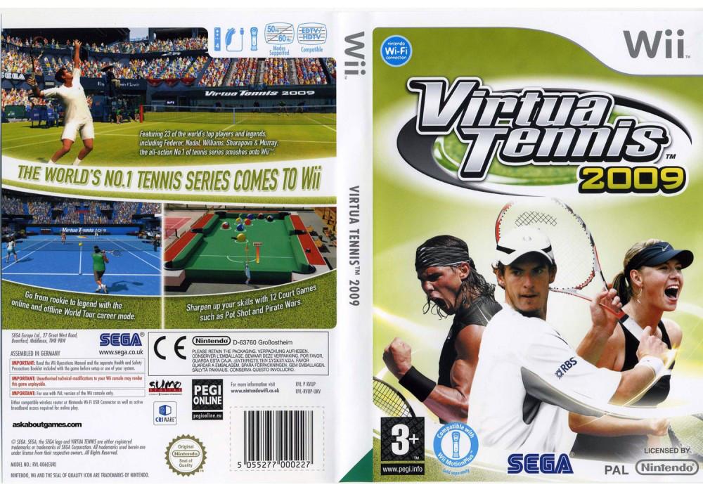 Игра для игровой консоли Nintendo Wii (PAL), Virtua Tennis 2009