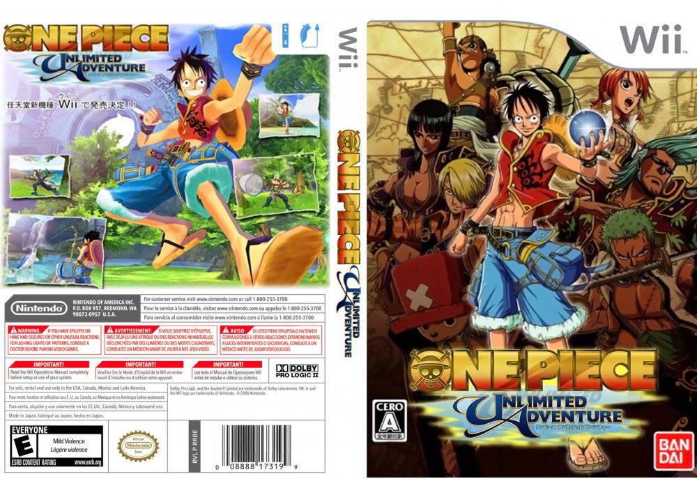 Игра для игровой консоли Nintendo Wii (PAL), One Piece: Unlimited Cruise - Episode 1
