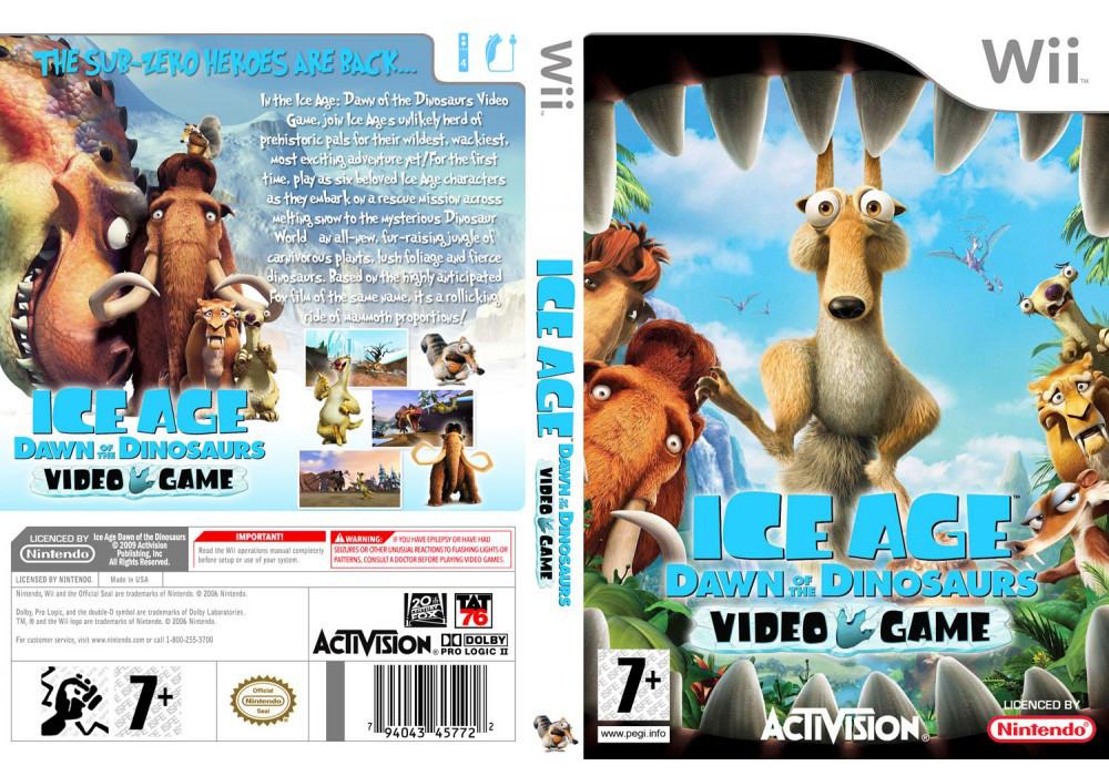 Игра для игровой консоли Nintendo Wii (PAL), Ice Age 3: Dawn of the Dinosaurs