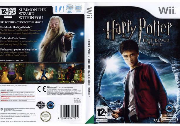 Игра для игровой консоли Nintendo Wii (PAL), Harry Potter and The Half-Blood Prince, фото 2