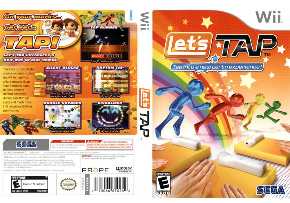 Игра для игровой консоли Nintendo Wii (PAL), Let's Tap