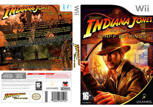 Игра для игровой консоли Nintendo Wii (PAL), Indiana Jones and the Staff of Kings, фото 2