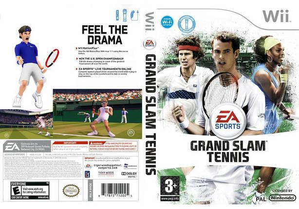 Игра для игровой консоли Nintendo Wii (PAL), Grand Slam Tennis, фото 2
