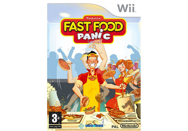Игра для игровой консоли Nintendo Wii (PAL), Fast Food Panic, фото 2