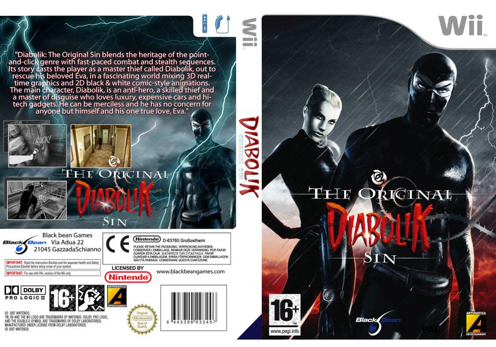 Игра для игровой консоли Nintendo Wii (PAL), Diabolik The Original Sin